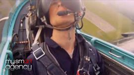 """Smartbox, coffret cadeau """"Avion de chasse"""" (vidéo promo)"""