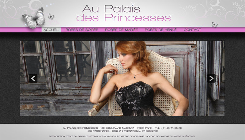 Au Palais des Princesses
