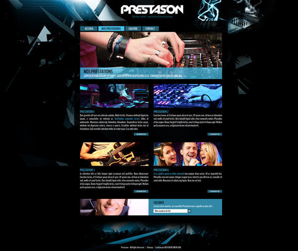 webdesign Prestason 2013