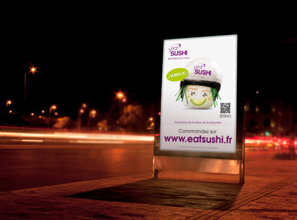 affiche eat SUSHI 2