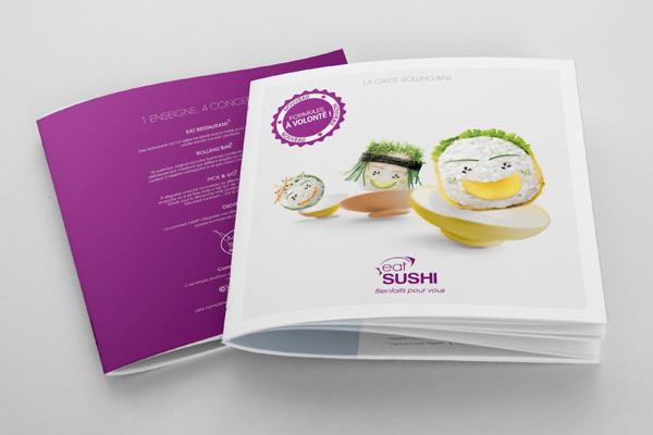 eat SUSHI menu