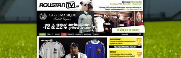 roustanTV-webdesign